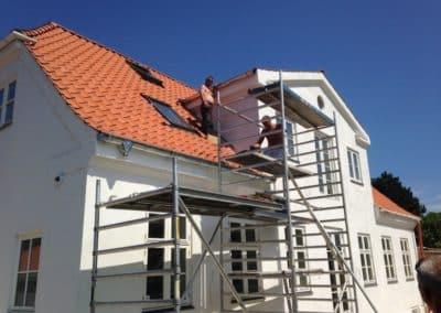 Renoveringsarbejde udført af Scandiprof