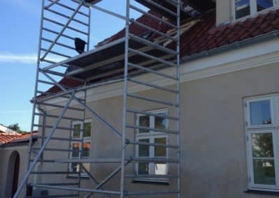 Renovering igang. Scandiprof