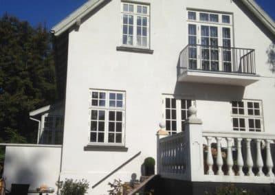 Hus efter renovering udført af Scandiprof