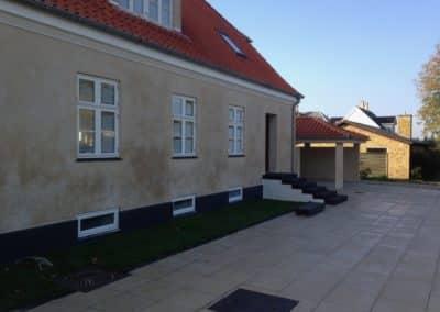 Hus efter renovering af Scandiprof